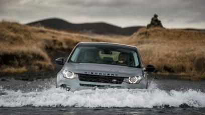 Land Rover Discovery Sport na Islandii