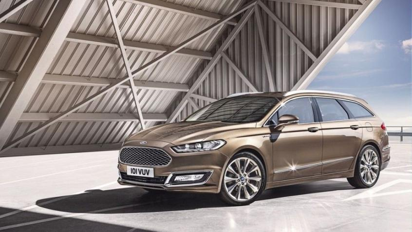 Ford Mondeo V Liftback Facelifting