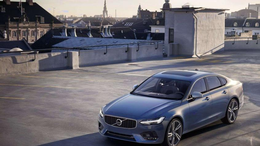 Volvo S90 II Sedan Facelifting