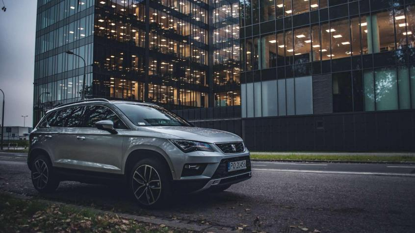 Seat Ateca SUV Facelifting
