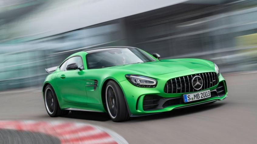 Mercedes AMG GT Coupe 4d
