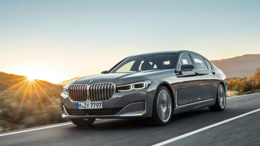BMW Seria 7 G11-G12 Sedan Facelifting