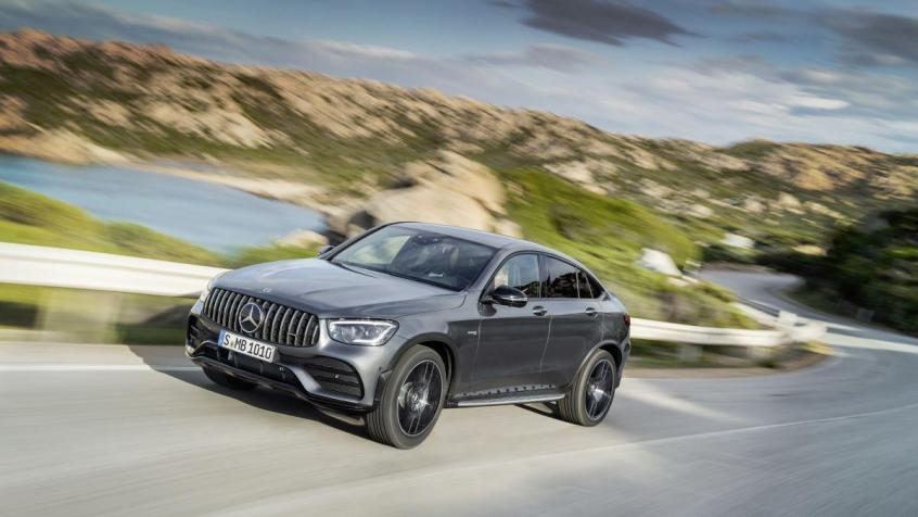 Mercedes GLC SUV Facelifting
