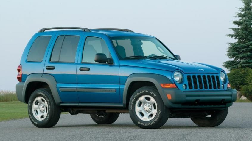 Jeep Liberty Modele Dane Silniki Testy Autocentrum Pl