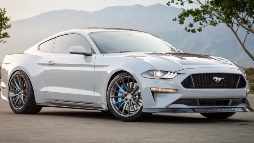 Ford Mustang VI Convertible Facelifting