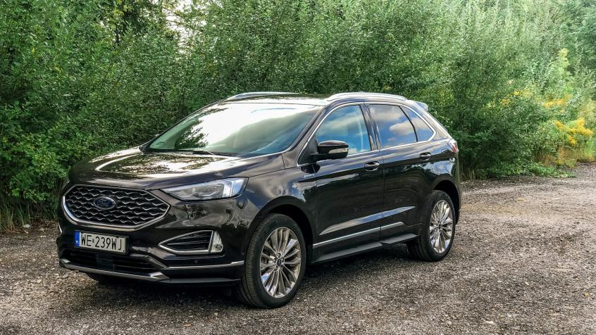 Ford Edge Vignale SUV Facelifting