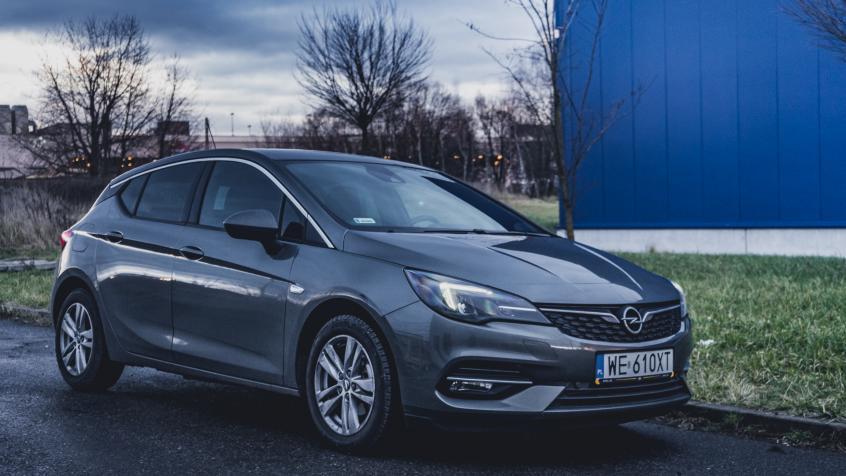 Opel Astra K Tyyppiviat