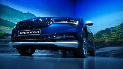 #Skoda #Superb #Scout