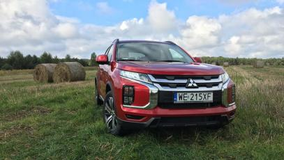 #test #asx #mitsubishi #4wd #crossover #japancar #offroad #countryside #jesien