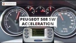 Peugeot 508 SW 2.0 HDI 163 PS MT - acceleration 0-100 km/h