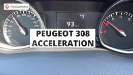 Peugeot 308 1.6 155 PS - acceleration 0-100 km/h