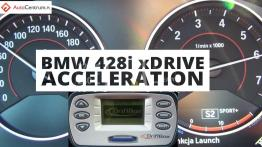 BMW 428i xDrive 2.0 245 KM (on dry) - acceleration 0-100 km/h
