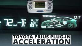 Toyota Prius Plug-in 1.8 HSD 136 KM - acceleration 0-100 km/h