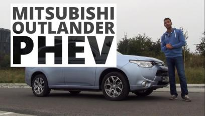 [HD] Mitsubishi Outlander PHEV, 2014 - test AutoCentrum.pl