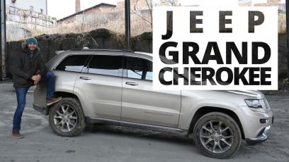 Jeep Grand Cherokee 3.0 V6 CRD 250 KM, 2014 - test AutoCentrum.pl