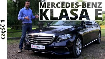 Mercedes-Benz Klasa E 220d 2.0 194 KM, 2016 - test AutoCentrum.pl