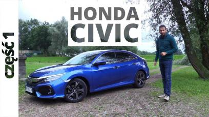 Honda CIvic 5D 1.5 VTEC Turbo 182 KM, 2017 - test AutoCentrum.pl