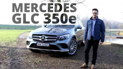 Mercedes-Benz GLC 350e 2.0 Hybrid 327 KM, 2017 - test AutoCentrum.pl