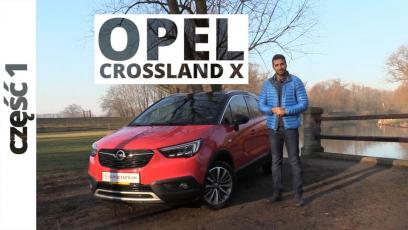 Opel Crossland X 1.2 Ecotec Turbo 110 KM, 2018 - test AutoCentrum.pl
