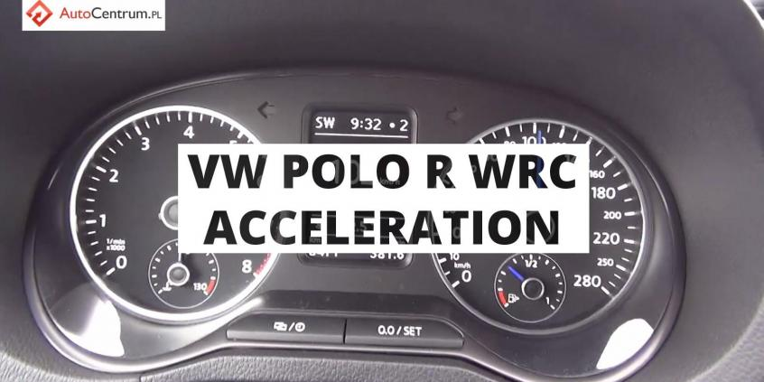 Volkswagen Polo R WRC 2.0 TSI 220 PS (on wet) - acceleration 0-100 km/h
