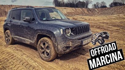Jeep Renegade Trailhawk 4xe w terenie – potencjał jest, ale… hybryda