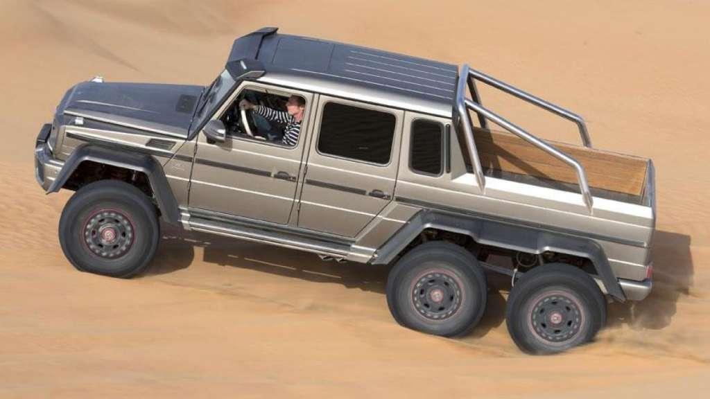 Mercedes G Klasa Amg 6x6