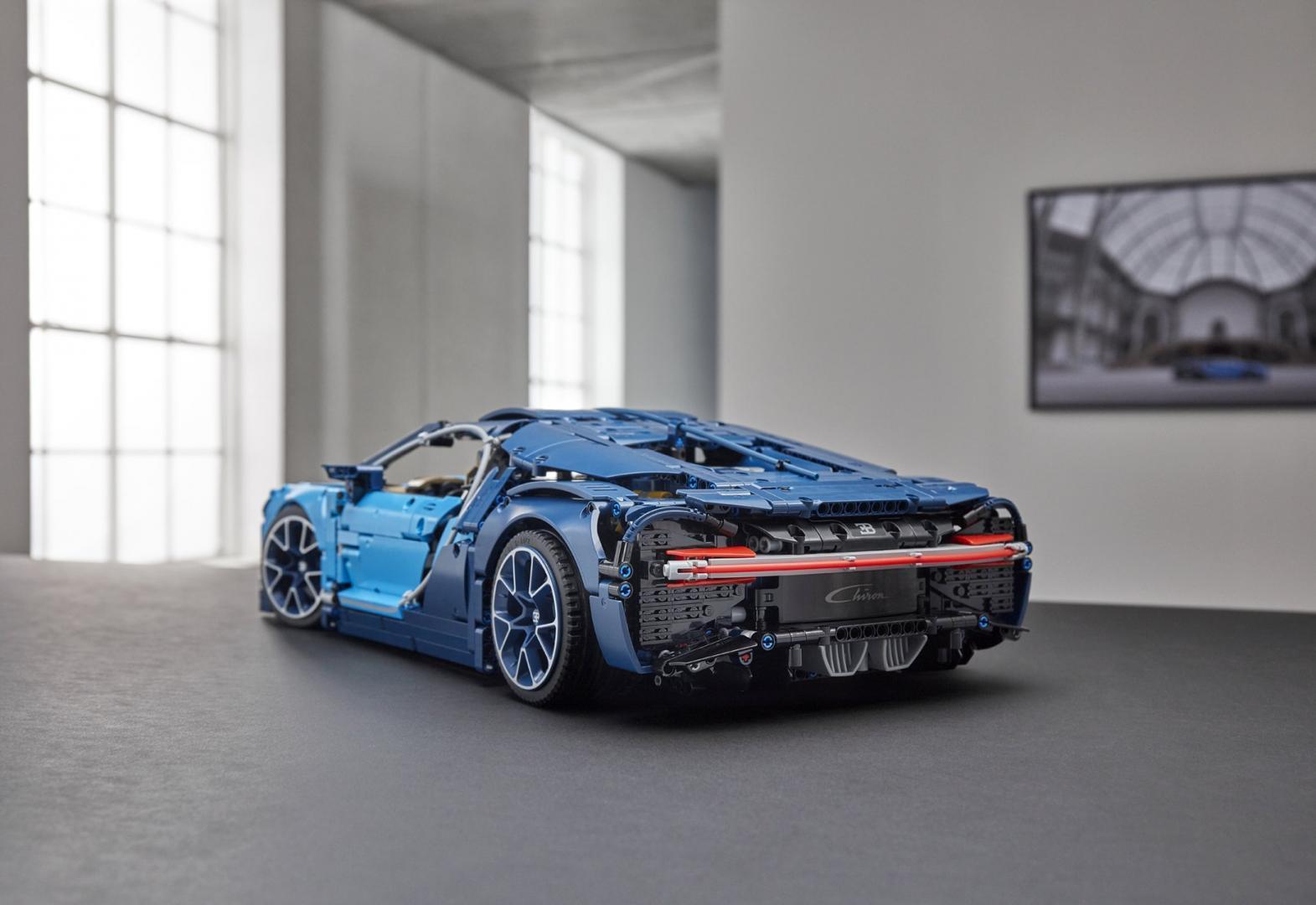 Lego Technic Bugatti Chiron Połączenie Sztuki Inżynierii I