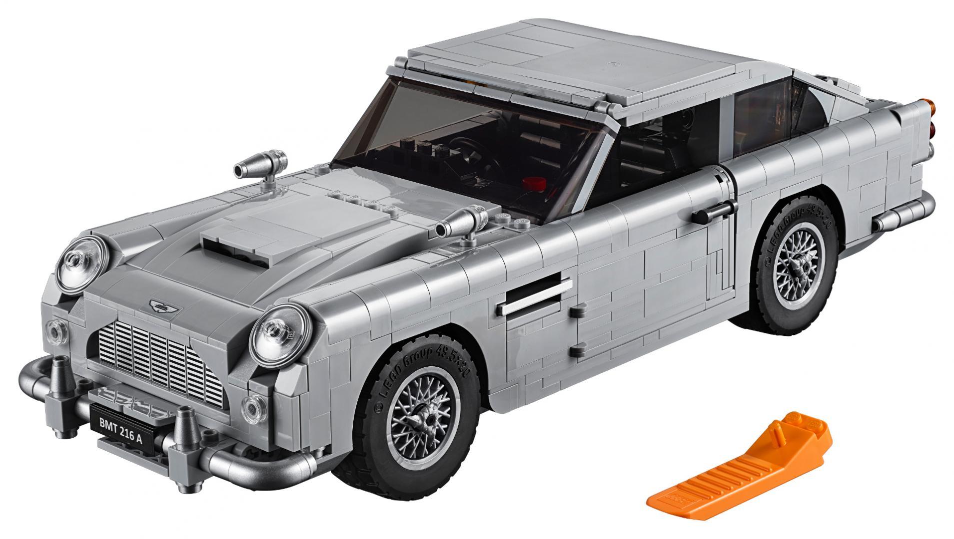 Aston Martin DB5 Jamesa Bonda z klock³w LEGO • AutoCentrum