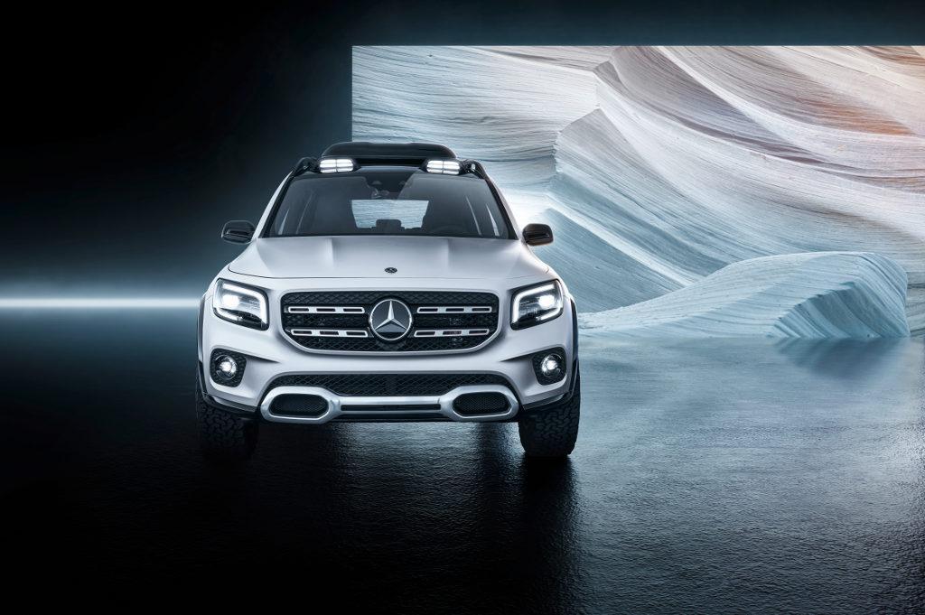 4273a55208eda5 Oto Mercedes GLB. Czy jednak jest jeszcze miejsce pomiędzy GLA i GLC ...