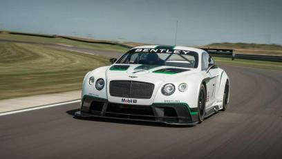 Bentley Continental GT3 debiutuje na Goodwood
